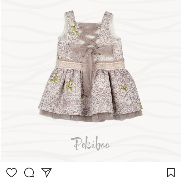 Spanish Designer Clothes   Dresses Moda Espaola Spanish Designer Mini Dress Size 6 Poshmark